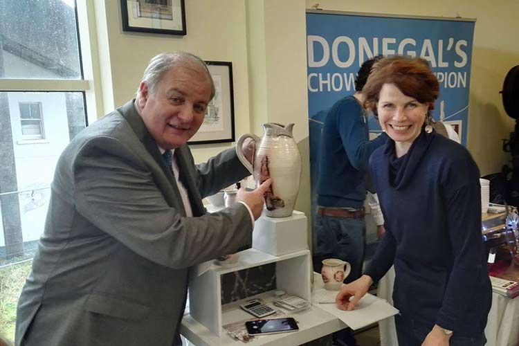 donegal pottery craft fair