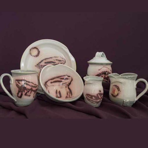 breakfast set pottery ireland