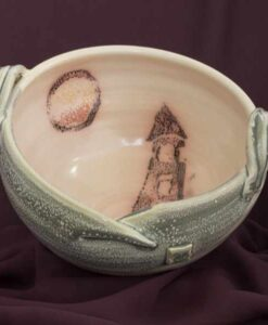 fruit salad bowl by irish potter