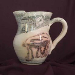 medium jug peninsula pottery