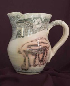 medium jug peninsula pottery