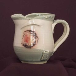 smaill milk jug irish pottery